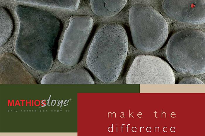 Kompletan katalog celog MATHIOS stone ručno rađenog dekorativnog kamena zaključno sa 2018-om godinom