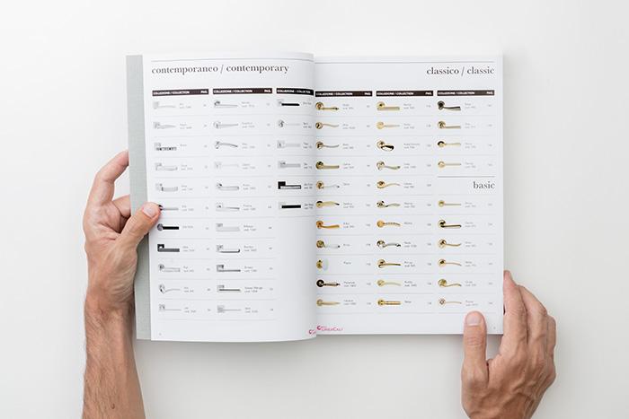 Kompletan katalog svih LineaCali ručno rađenih kvaka zaključno sa 2018-om godinom